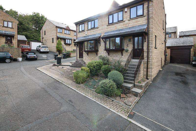 3 Bedrooms Semi Detached House for sale in Caldercroft, Elland