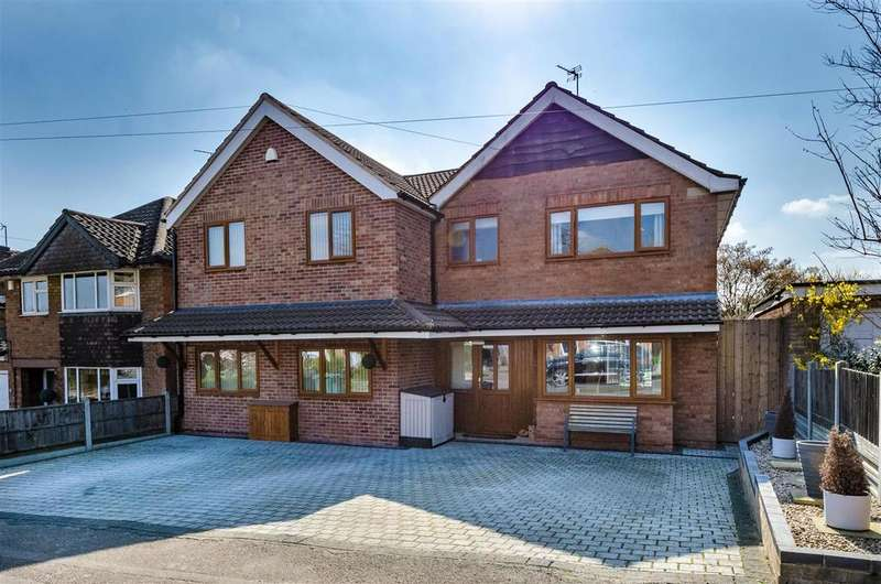 5 Bedrooms Detached House for sale in Abbey Road, Enderby, Leicester