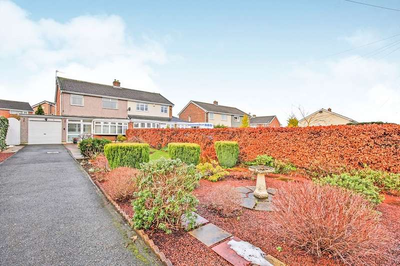 2 Bedrooms Semi Detached House for sale in Brackendale Road, Durham, DH1