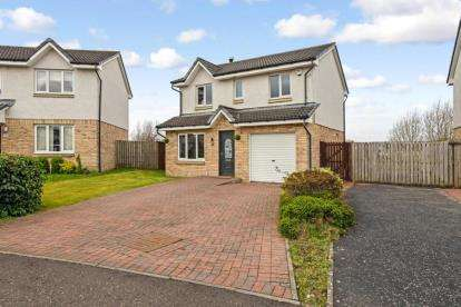 4 Bedrooms Detached House for sale in Bluebell Wynd, Wishaw, North Lanarkshire