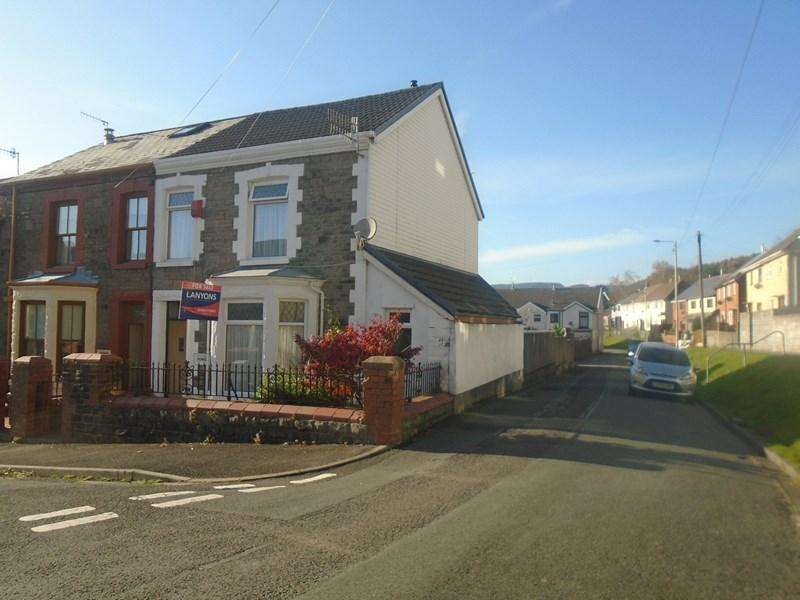 3 Bedrooms End Of Terrace House for sale in Ninian Street, Treorchy