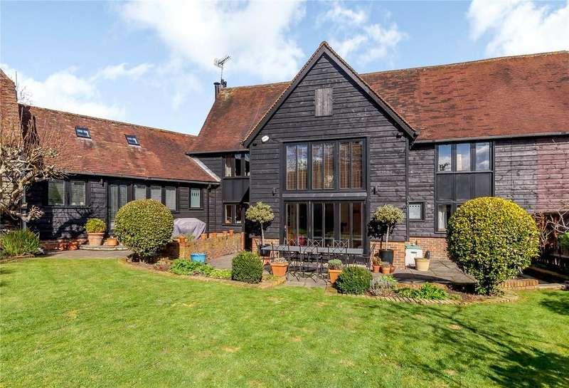 5 Bedrooms Semi Detached House for sale in Ayres End Lane, Harpenden, Hertfordshire, AL5