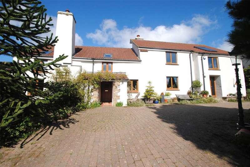 4 Bedrooms Detached House for sale in Darracott, Georgeham