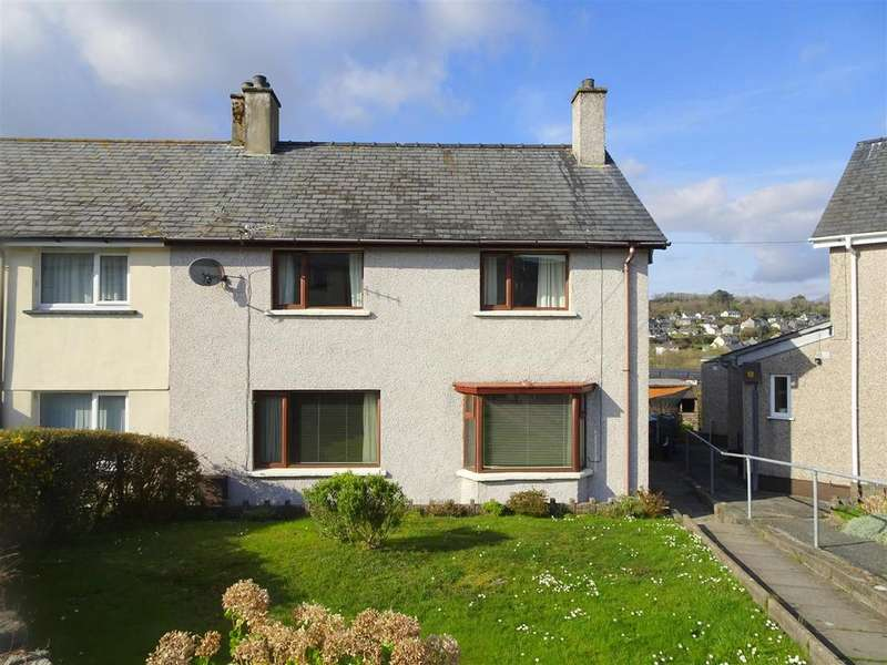 3 Bedrooms End Of Terrace House for sale in Adwy Ddu Estate, Penrhyndeudraeth