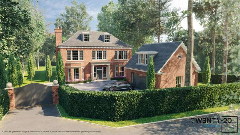6 Bedrooms Detached House for sale in South Ascot SL5