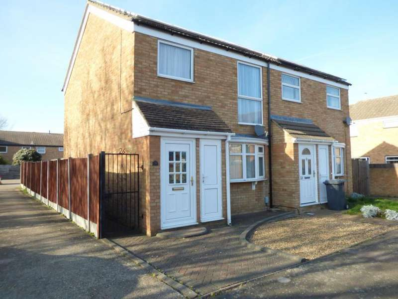 3 Bedrooms Semi Detached House for sale in Kempston, Beds, MK42 8QQ