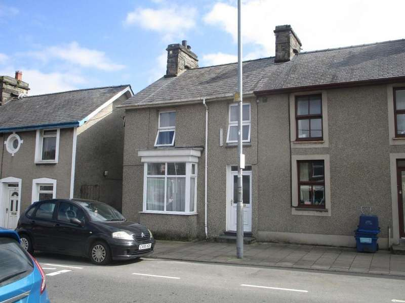 3 Bedrooms End Of Terrace House for sale in Church Street, Penrhyndeudraeth
