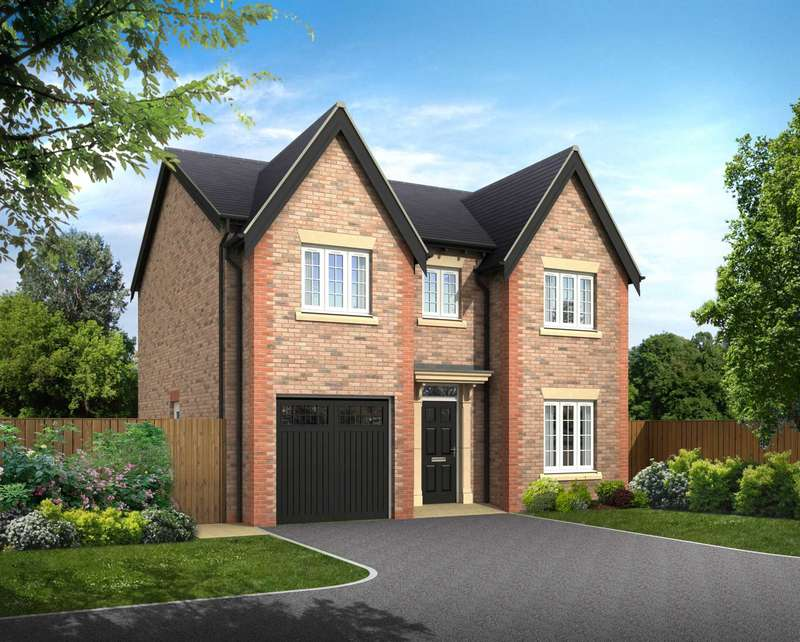 4 Bedrooms Detached House for sale in `The Bronte` Plot 4, The Woodlands, Newton with Scales