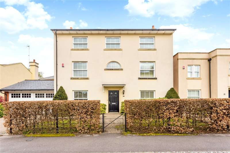 5 Bedrooms Detached House for sale in Rowena Cade Avenue, The Park, Cheltenham, GL50