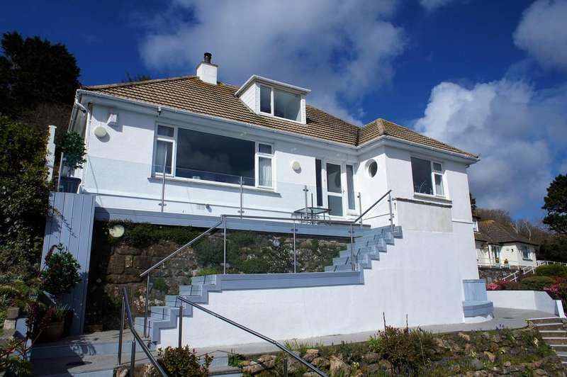 4 Bedrooms Detached House for sale in Raginnis Hill, Mousehole TR19