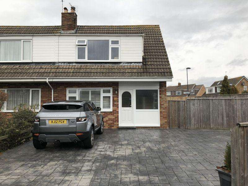 3 Bedrooms Semi Detached House for sale in Staverton Close, Stoke Lodge, Bristol