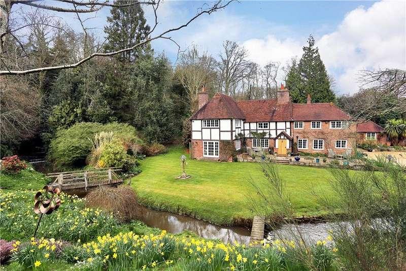 5 Bedrooms Detached House for sale in Hanging Birch Lane, Waldron, Heathfield, East Sussex, TN21