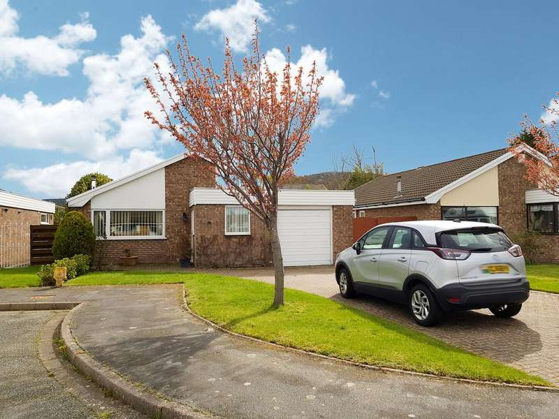 3 Bedrooms Detached Bungalow for sale in Heol Colwyn, Abergele