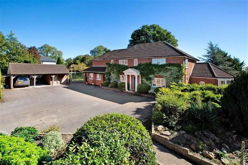 5 Bedrooms Detached House for sale in Normans Green, Plymtree, Cullompton, Devon, EX15