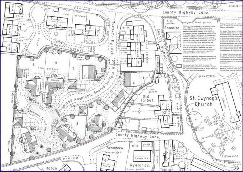 Land Commercial for sale in Llanwnog, Caersws