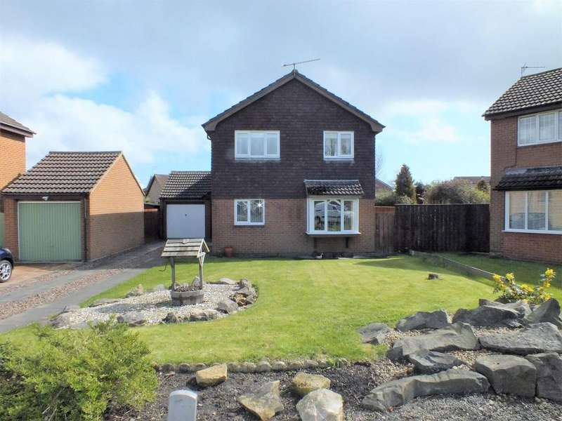 4 Bedrooms Detached House for sale in Deal Close, Blyth
