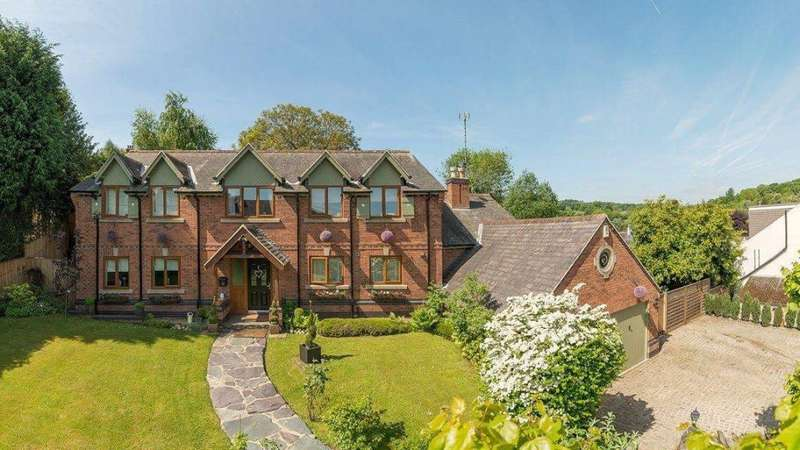 4 Bedrooms Detached House for sale in Victoria Road, Woodhouse Eaves, Leicestershire LE12