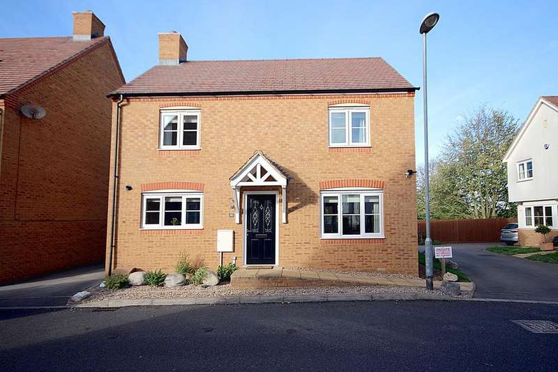 3 Bedrooms Detached House for sale in Garfield, Langford, SG18