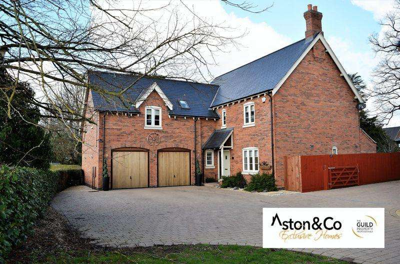 5 Bedrooms Detached House for sale in Leticia Avenue, Scraptoft Leicestershire