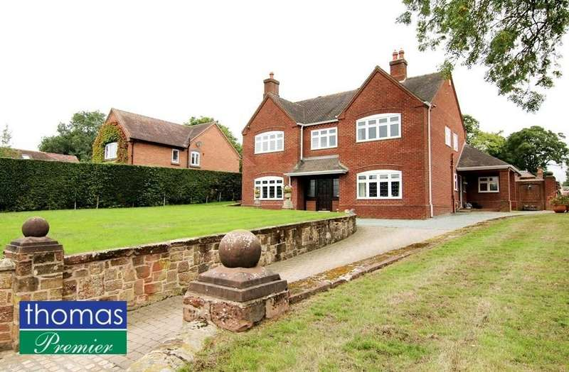5 Bedrooms Detached House for sale in Pump Lane, Churton, Chester, CH3