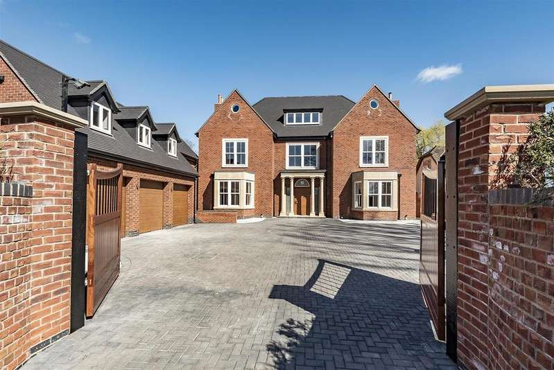 6 Bedrooms Detached House for sale in Chessetts Wood Road, Lapworth, Solihull
