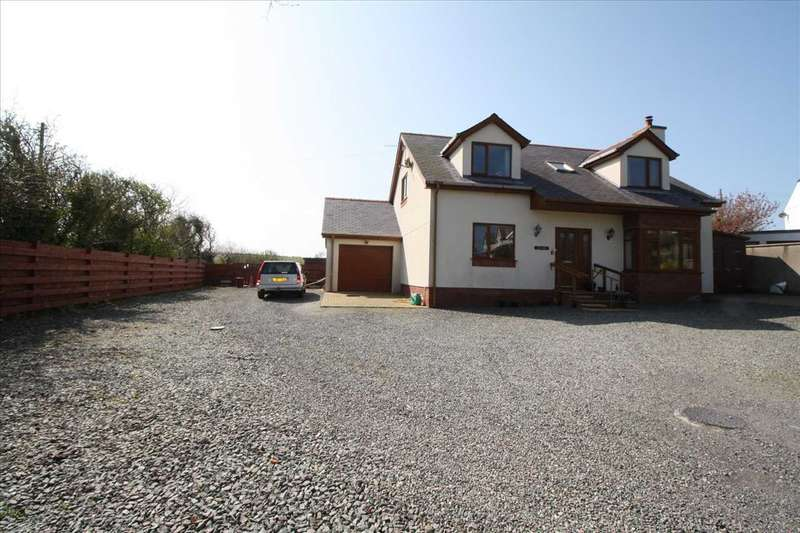 3 Bedrooms Detached House for sale in Ger Y Mor, Cemaes Bay, Cemaes Bay