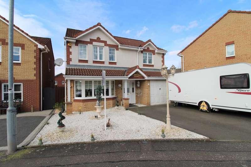 4 Bedrooms Detached House for sale in Balfron Drive, Coatbridge ML5
