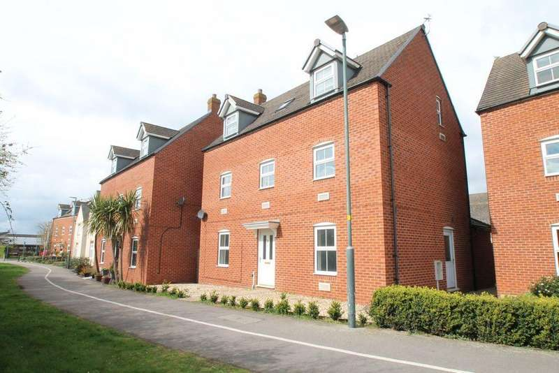 5 Bedrooms Detached House for sale in Ambrosia Walk, Tewkesbury