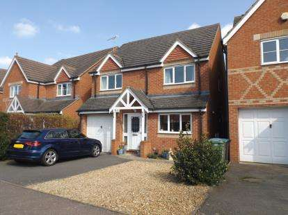 4 Bedrooms Detached House for sale in Thatch Meadow Drive, Market Harborough, Leicestershire