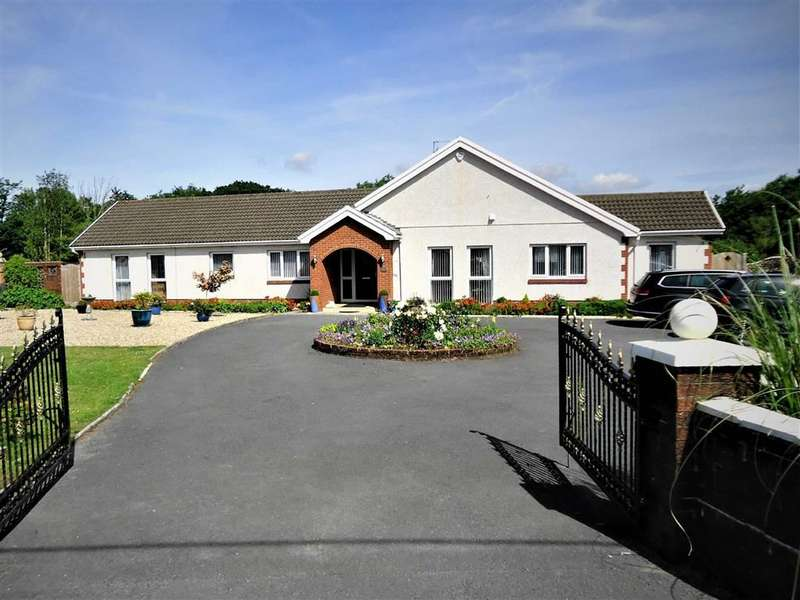 4 Bedrooms Detached Bungalow for sale in Carway, Kidwelly