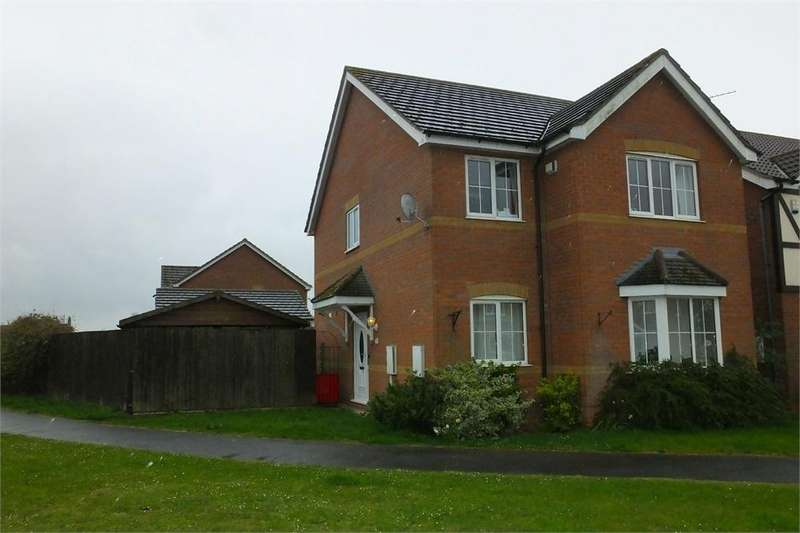 3 Bedrooms Detached House for sale in Amos Way, Sibsey, Boston, Lincolnshire