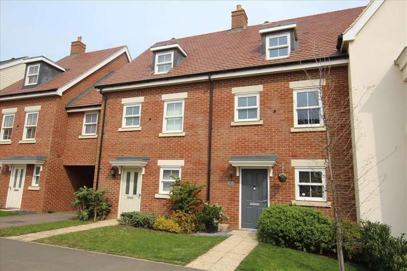 3 Bedrooms Terraced House for sale in Tavener Drive, Biggleswade, SG18