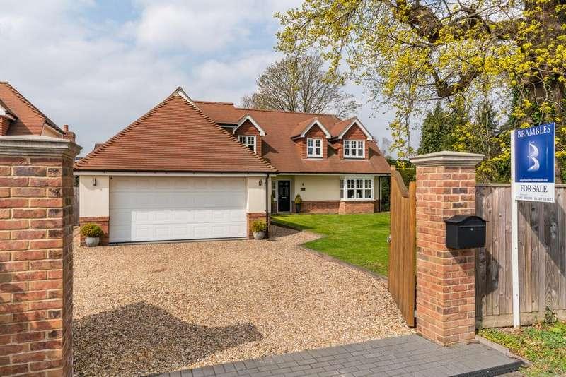 5 Bedrooms Detached House for sale in Brook Lane, Warsash SO31