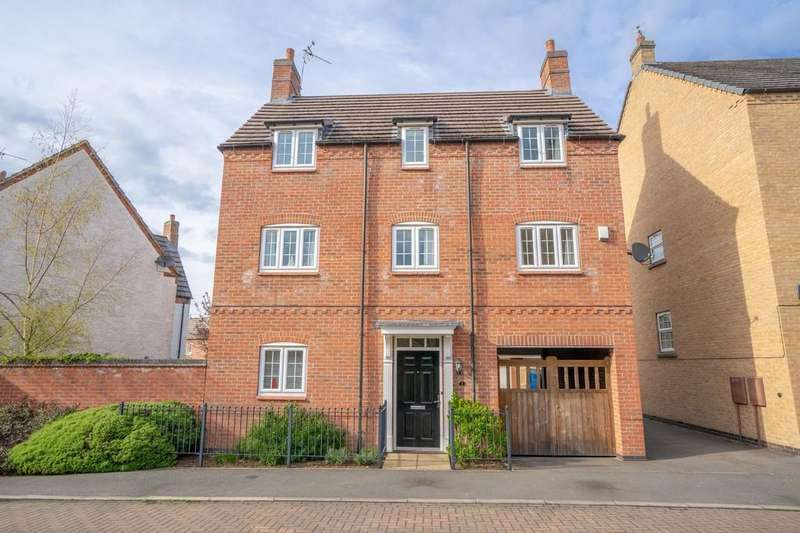 4 Bedrooms Detached House for sale in Lady Jane Walk, Scraptoft, Leicester