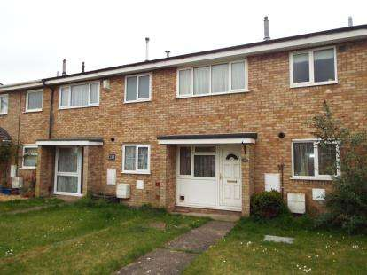 3 Bedrooms Terraced House for sale in Grangeway, Houghton Regis, Dunstable, Bedfordshire