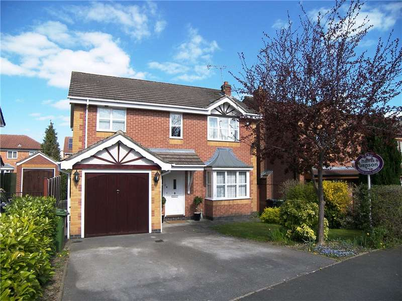 4 Bedrooms Detached House for sale in Loom Close, Belper, Derbyshire, DE56