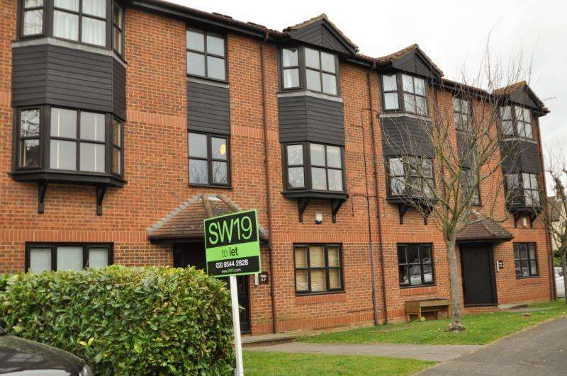 2 Bedrooms Apartment Flat for sale in Alphea Close, Colliers Wood