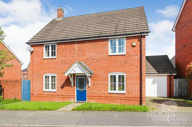 4 Bedrooms Detached House for sale in Battalion Way, Thatcham