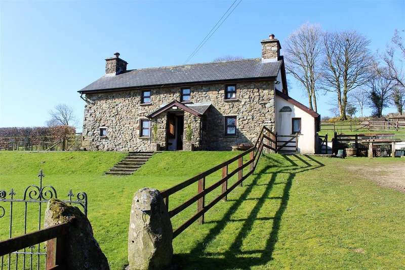 3 Bedrooms Country House Character Property for sale in Glandwr, Whitland