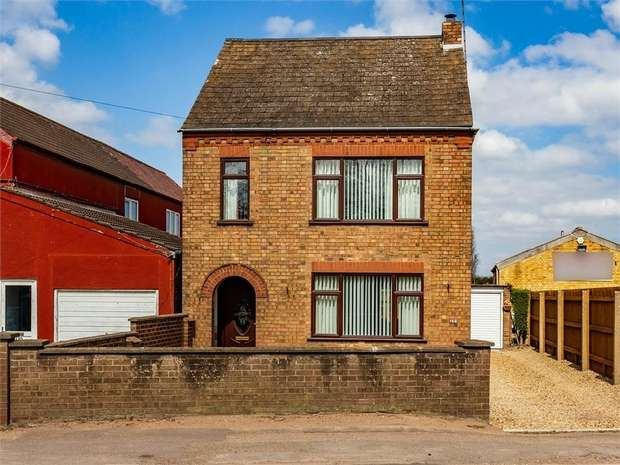 3 Bedrooms Detached House for sale in Peterborough Road, Whittlesey, Peterborough, Cambridgeshire