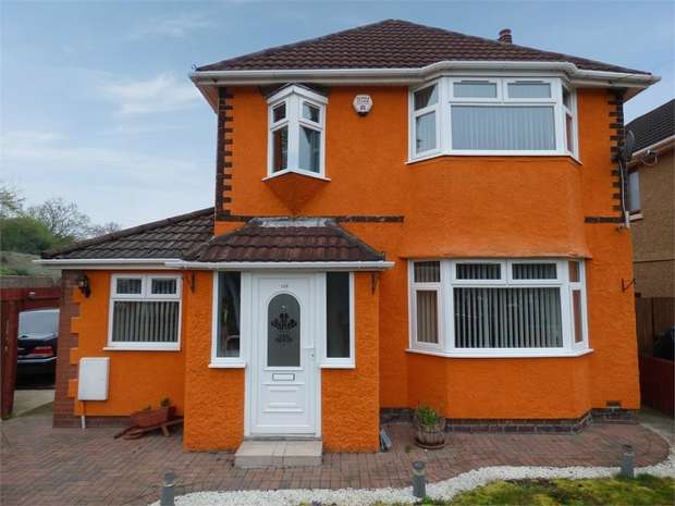 3 Bedrooms Detached House for sale in Somerton Road, Newport, Newport