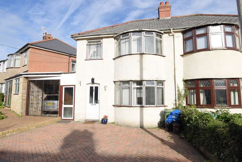 3 Bedrooms Semi Detached House for sale in Wayfield Crescent, Cwmbran, NP44