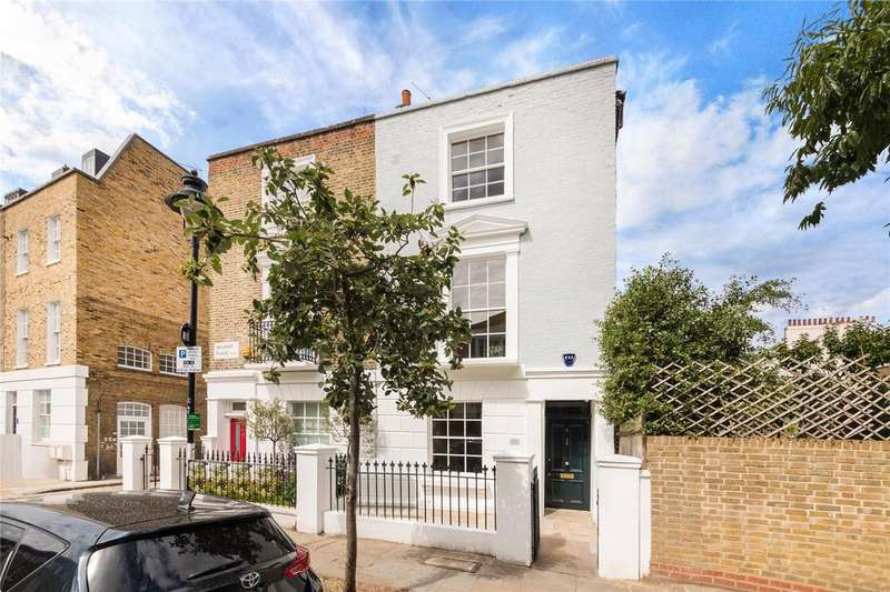 4 Bedrooms End Of Terrace House for sale in Wilmot Place, London