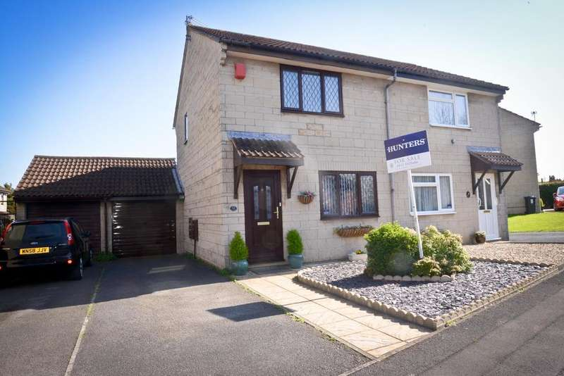 2 Bedrooms Semi Detached House for sale in Moor Croft Drive, Longwell Green, BRISTOL