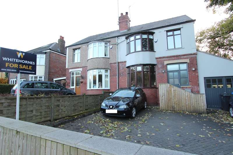 3 Bedrooms Semi Detached House for sale in Greenhill Avenue, Beauchief