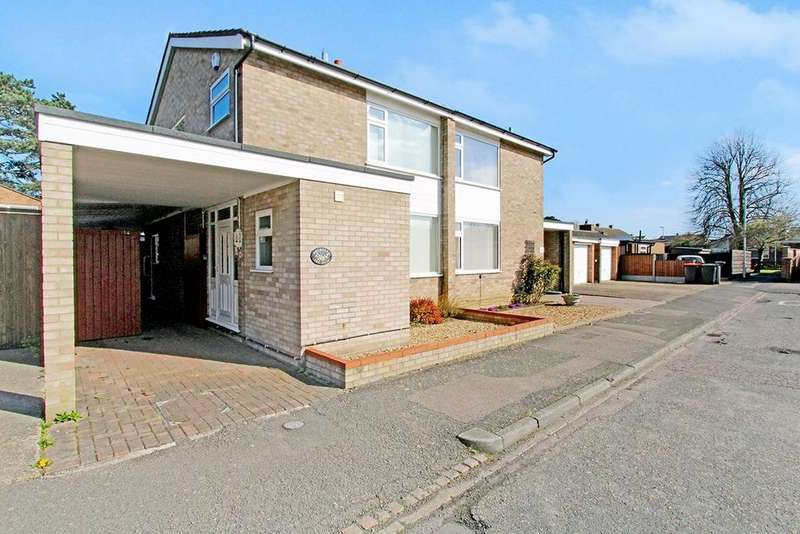 3 Bedrooms Semi Detached House for sale in The Pines, Kempston, Bedford, MK42