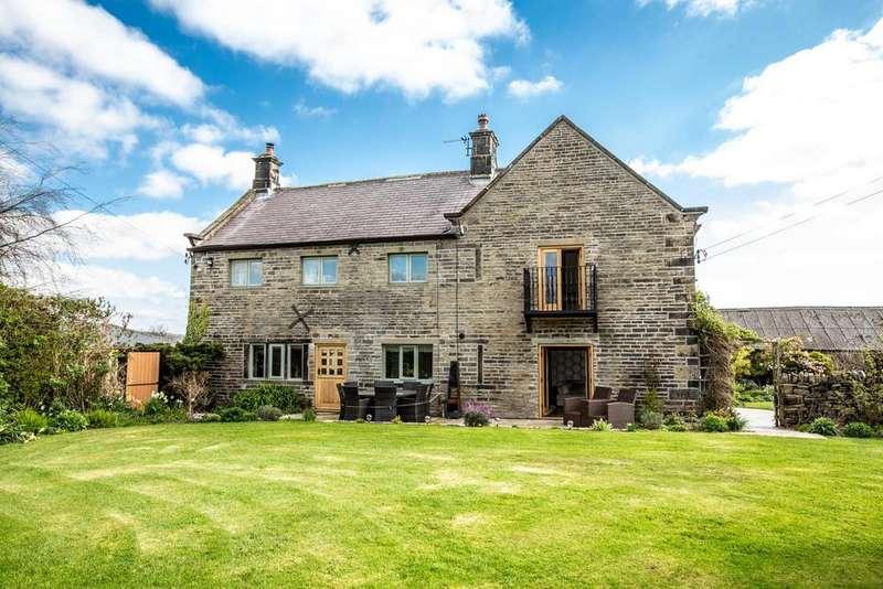 4 Bedrooms Detached House for sale in Far Broad Oak Farmhouse, Gunthwaite, S36 7GE