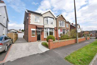 3 Bedrooms Semi Detached House for sale in Parsonage Road, Ramsgreave, Blackburn, Lancashire