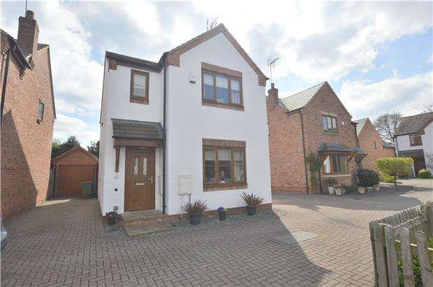 3 Bedrooms Detached House for sale in Hillview Gardens, Shurdington, CHELTENHAM, Gloucestershire, GL51 4TW