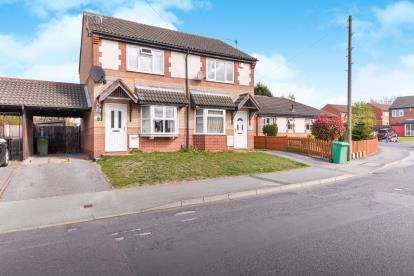 2 Bedrooms Semi Detached House for sale in Rigley Drive, Nottingham, Nottinghamshire, England